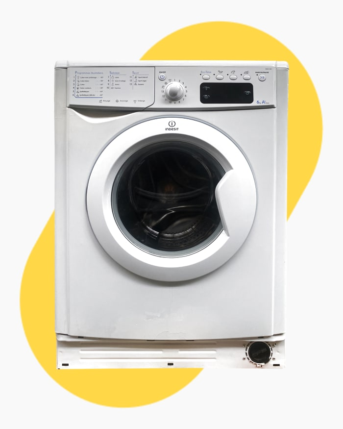 Lave-linge Ouverture frontale Indesit IWE61481 1