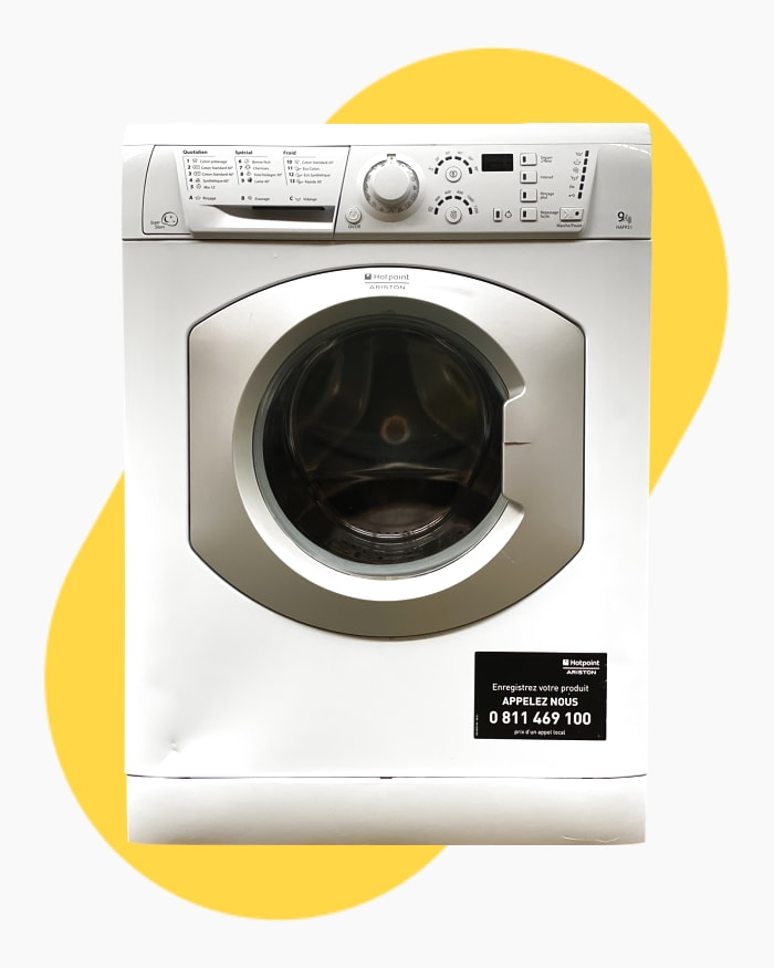 Lave-linge Ouverture frontale Hotpoint Ariston HAF921 1