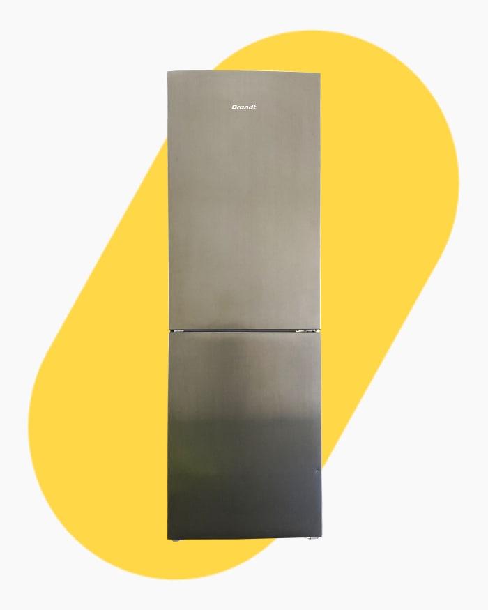 Réfrigérateur Réfrigérateur combiné Brandt Bfc8610nx 1