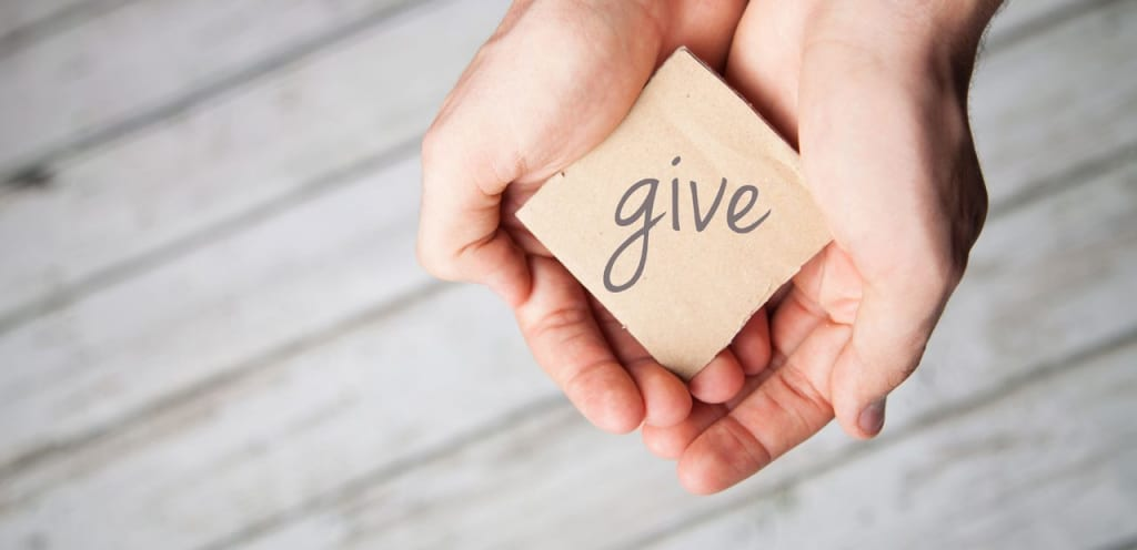 giving to God