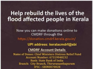 Contribute to Kerala CMDRF..