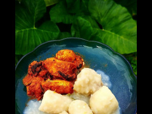 Fish & Colocasia