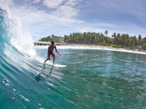 Surfing in Mangalore