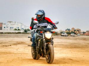Bike Ride in Bahrain