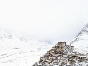 Key Monastery in Winter