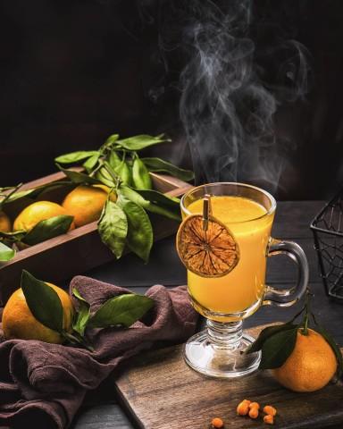 Sea Buckthorn Tangerine Tea