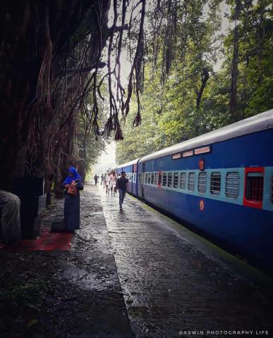 Cherukara railway station 🚉 🛤