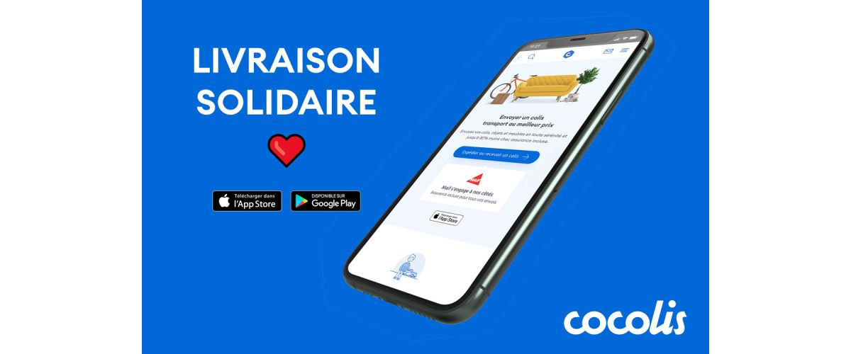 Illustration livraison solidaire covid-19 Cocolis