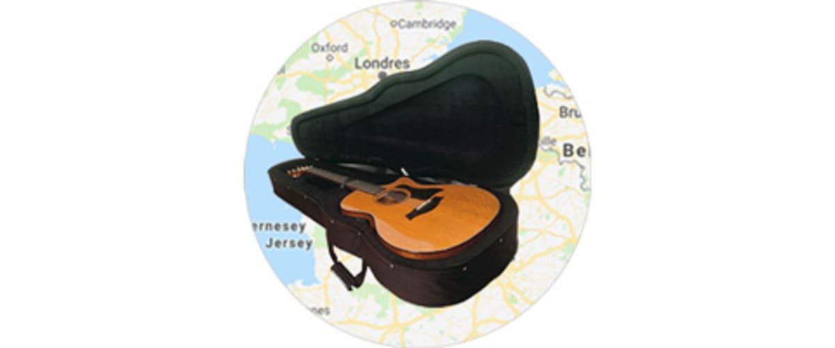 Solution pour transport guitare pas cher