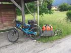 Moi + vélo + Rémorque