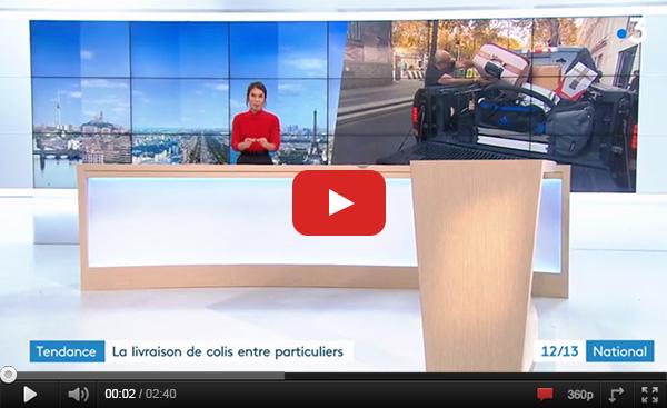 parution presse cocolis france 3 covoiturage colis voiturage