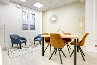 salle de réunion Paris - Bureau à l'heure - Cocoon Mogador - Estienne
