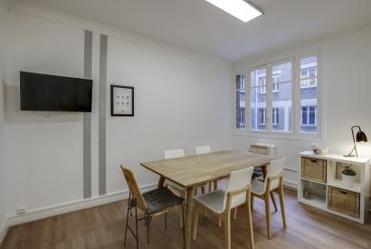 salle de réunion Paris - salon atypique co-meeting champs elysée paris - Cocoon Pergolèse - Périer