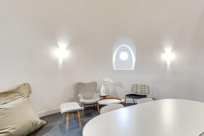 salle de réunion Paris - Espace détente - Cocoon Mogador - Coupole