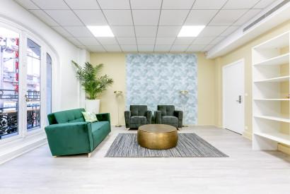 salle de réunion Paris - Salon de repos à victoire - Cocoon Mogador - Victoire