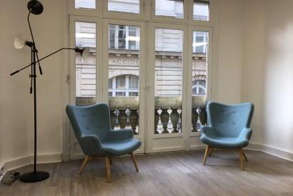 salle de réunion Paris - coin repos - Cocoon Mogador - Théâtre