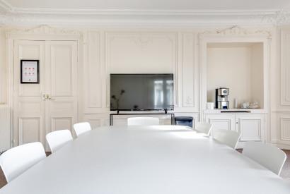 salle de réunion Paris - Ecran - Cocoon Madeleine