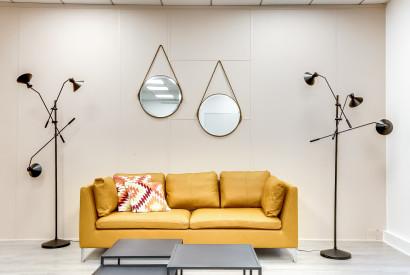 salle de réunion Paris - canapé salon workshop confortable - Cocoon Mogador - Lorette
