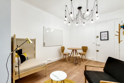 salle de réunion Paris - Paris bureau a louer - Cocoon Pergolèse - Petit Parc