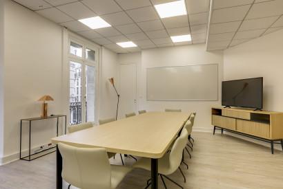salle de réunion Paris - Bureau à l'heure - Cocoon Mogador - Trinité