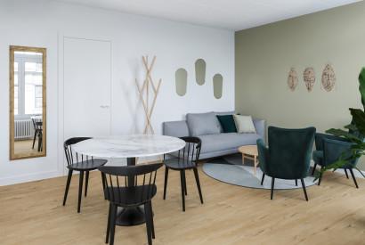 salle de réunion Paris - Double atmosphère chaleureux et design - Cocoon Bienfaisance - Observance