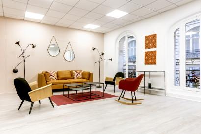 salle de réunion Paris - salon lumineux - Cocoon Mogador - Lorette