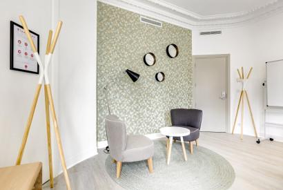 salle de réunion Paris - Bureau à l'heure Saint Lazare - Cocoon Mogador - Lazare