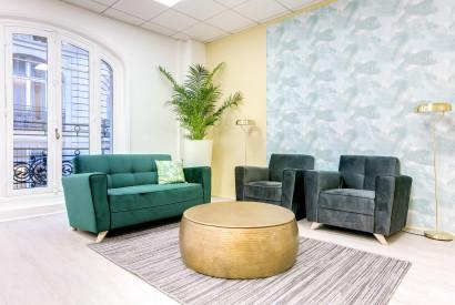 salle de réunion Paris - salon cosy à victoire - Cocoon Mogador - Victoire