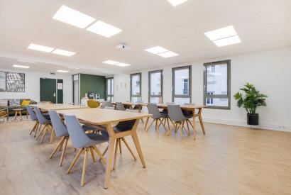 salle de réunion Paris - Bureau pour formation ou réunion - Cocoon Nation - Auguste