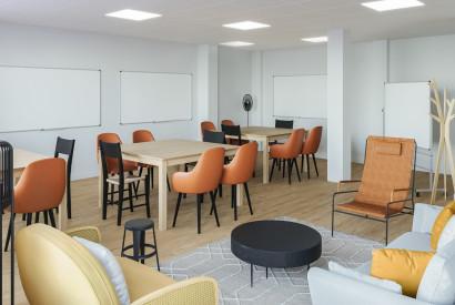 salle de réunion Paris - Bureau 3 - Cocoon Bienfaisance - Rovigo