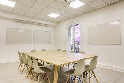 salle de réunion Paris - Espace de travail - Cocoon Mogador - Victoire