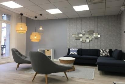 salle de réunion Paris - Lounge - Cocoon Mogador - Théâtre