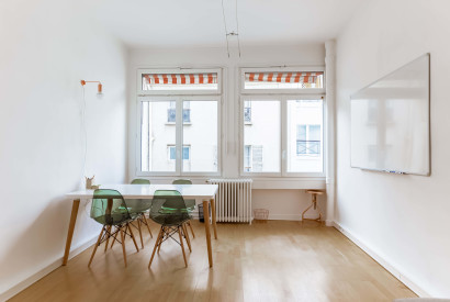 bureau à l'heure Paris - Espace de travail de travail lumineux - Cocoon - Panorama