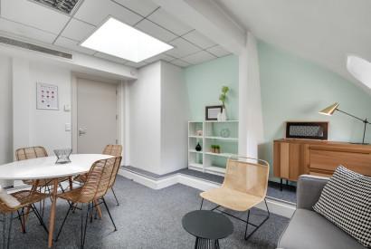 bureau à l'heure Paris - Salle à louer rue mogador - Cocoon Mogador - Hublots