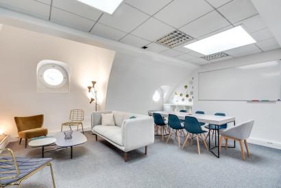 bureau à l'heure Paris - Espace en location rue Mogador - Cocoon Mogador - Ruche