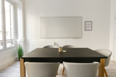Salle de réunion Paris - Bureau 1-3 Réunion, bureau, espace, salle, coaching, à l'heure, cosy, design, Paris, Madeleine - Cocoon Arcade - Marcel