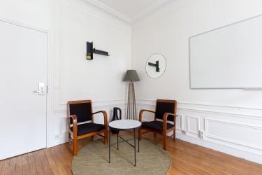 Salle de réunion Paris - réunion, bureau, espace, salle, coaching, à l'heure, cosy, design, Paris, Grenelle - Cocoon Laos - Castelnau