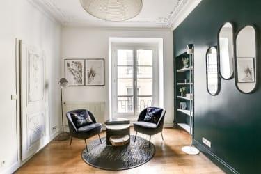 Salle de réunion Paris - Coin salon cosy - Cocoon Louvois - Lulli