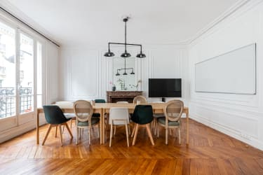 Salle de réunion Paris - réunion, bureau, espace, salle, coaching, à l'heure, cosy, design, Paris, Grenelle - Cocoon Laos - Alexandre