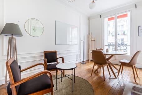 Bureau à l'heure 75015 Paris - réunion, bureau, espace, salle, coaching, à l'heure, cosy, design, Paris, Grenelle