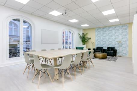 Salle de réunion 75009 Paris - espace de travail cocoon bureau à l'heure