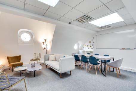 Salle de réunion 75009 Paris - Beau bureau 10 personnes