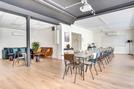 Cocoon Rousseau - Jean 75001 Paris - Grande salle de réunion, Bureau à l'heure, Cosy et lumineux