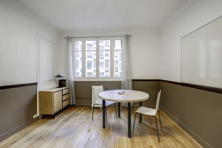 Bureau à l'heure 75116 Paris - espace de travail cosy pergolèse