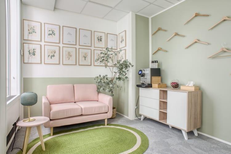 Salle de réunion Paris - Espace salon défense - Cocoon Défense - Olivia
