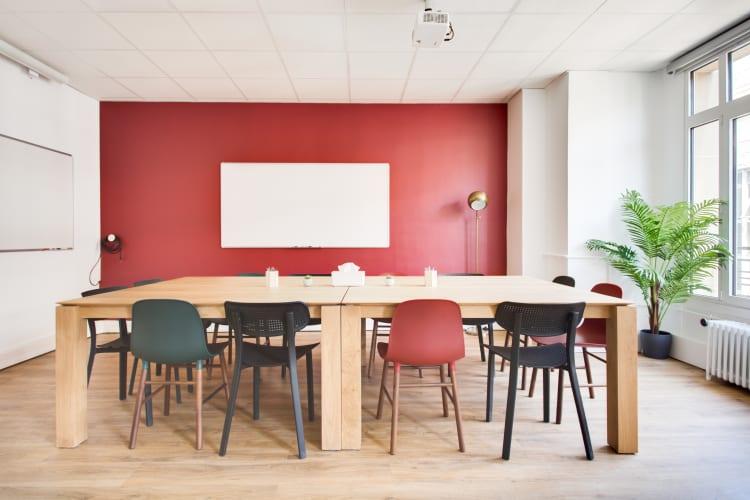 Salle de réunion Paris - Salle spacieuse - Cocoon Bienfaisance - Goetz