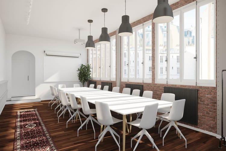 Salle de réunion Paris - Salle de reunion martel - vue salle - Cocoon Martel - Prisca