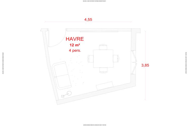 Salle de réunion Paris - Bureau privatif - Cocoon Mogador - Havre