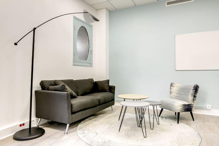 Salle de réunion Paris - Espace de travail, salon cosy pas loin d'Auber - Cocoon Mogador - Garnier