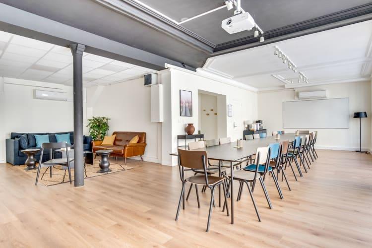Salle de réunion Paris - Grande salle de réunion, Bureau à l'heure, Cosy et lumineux - Cocoon Rousseau - Jean